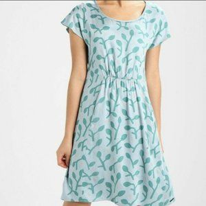 Anthropologie Numph Green Dress Size 34 S Small wi